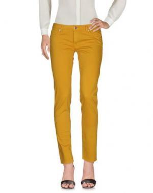 Повседневные брюки ROŸ ROGER'S. Цвет: охра