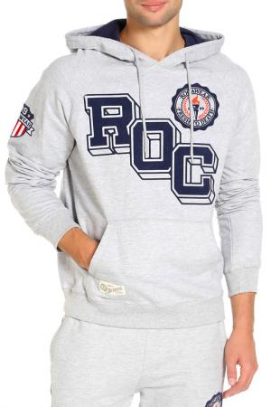 Толстовка Rocawear. Цвет: серый