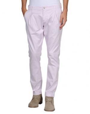 Повседневные брюки UNCODE. Цвет: светло-розовый