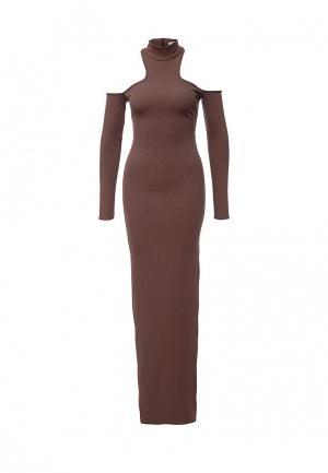 Платье City Goddess. Цвет: коричневый