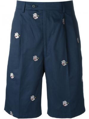 Шорты Popeye Lc23. Цвет: синий
