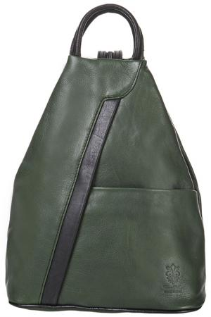 Рюкзак MATILDA ITALY. Цвет: green and black