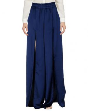 Повседневные брюки NINEMINUTES. Цвет: темно-синий