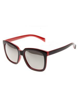 Солнцезащитные очки Pretty Mania. Цвет: черный,красный