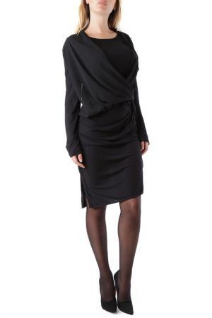 Платье Cristina Gavioli. Цвет: черный
