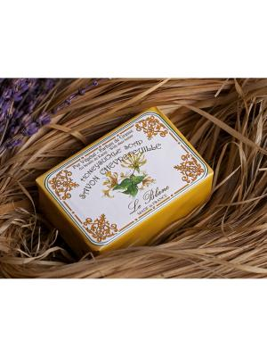 Косметическое мыло в картонной коробке Жимолость 100гр. Le Blanc.. Цвет: светло-желтый