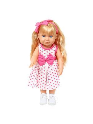 Кукла Злата 37см. Lisa Jane. Цвет: розовый, белый