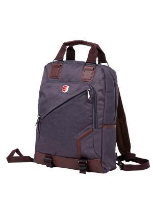 Рюкзак Polar. Цвет: темно-коричневый