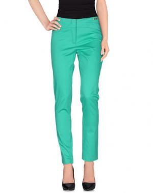 Повседневные брюки CHIARA D'ESTE. Цвет: зеленый