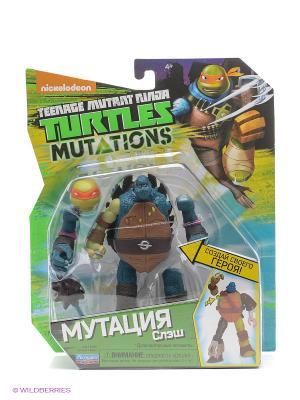 Фигурка Черепашки-ниндзя 12см серия Mutation СЛЭШ Playmates toys. Цвет: синий