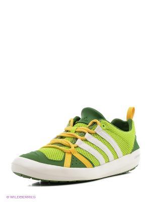 Кроссовки Adidas. Цвет: светло-зеленый