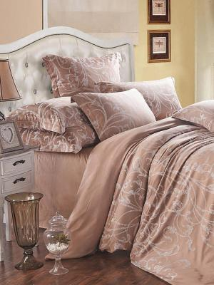 Комплект постельного белья Primavelle. Цвет: бежевый