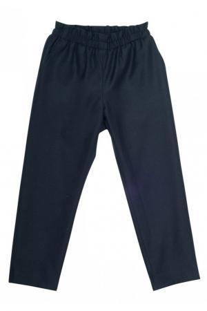 Свободные шерстяные брюки Bonpoint. Цвет: none