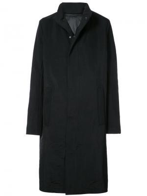 Пальто со съемной подкладкой 11 By Boris Bidjan Saberi. Цвет: чёрный