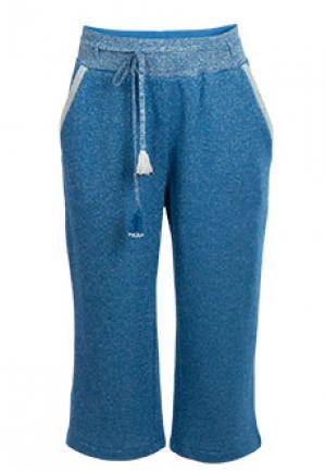 Спортивные брюки PATRIZIA PEPE. Цвет: голубой