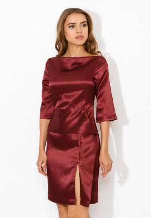 Платье Tutto Bene. Цвет: бордовый