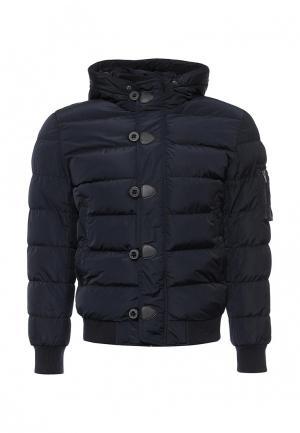Куртка утепленная Mastice. Цвет: синий