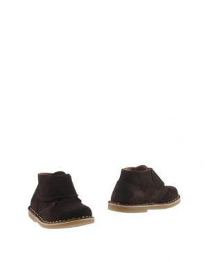 Полусапоги и высокие ботинки OCA-LOCA. Цвет: темно-коричневый