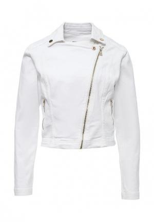 Куртка джинсовая Concept Club. Цвет: белый