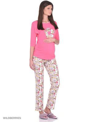 Комплект для беременных и кормящих ФЭСТ. Цвет: бледно-розовый, бежевый, белый