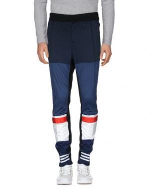 Повседневные брюки LONGJOURNEY. Цвет: темно-синий
