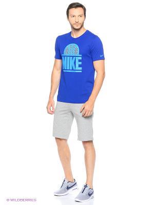 Шорты M NSW SHORT JSY CLUB Nike. Цвет: светло-серый, белый