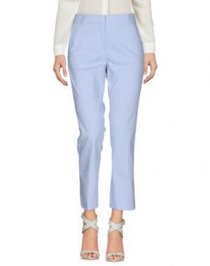 Повседневные брюки F.IT. Цвет: небесно-голубой