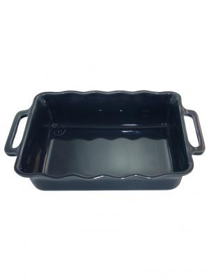 Прямоугольное блюдо 30 см 1,8 л Appolia. Цвет: темно-синий