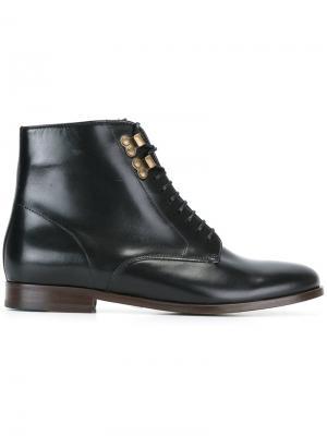 Ботинки на шнуровке A.P.C.. Цвет: чёрный