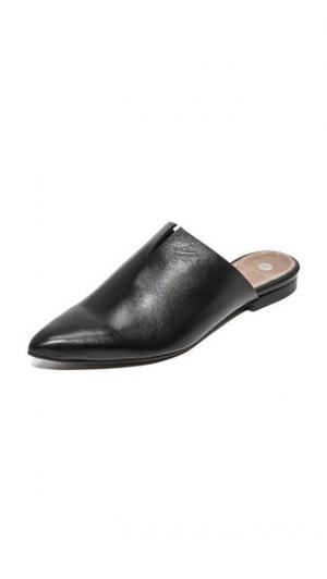 Туфли без задника Amelie с остроконечным мыском Hudson London. Цвет: голубой
