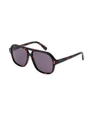 Солнцезащитные очки Stella McCartney. Цвет: черный, серый