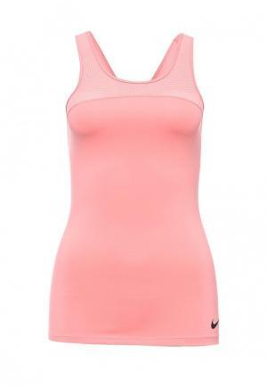 Топ спортивный Nike. Цвет: розовый