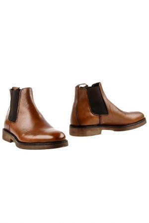 Ботинки BORGO MEDICEO. Цвет: коричневый