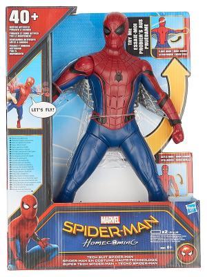 Фигурка человека-паука со световыми и звуковыми эффектами Spider-Man. Цвет: синий, красный