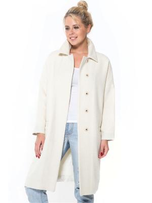Пальто SUCCESS. Цвет: молочный
