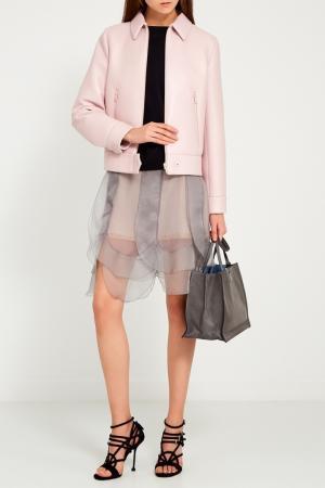 Хлопковый свитшот с карманами Prada. Цвет: черный