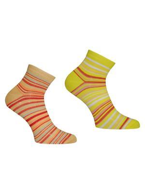 Носки 2 пары Master Socks. Цвет: горчичный, желтый
