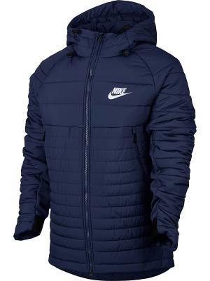 Куртка M NSW SYN FILL AV15 JKT HD Nike. Цвет: синий