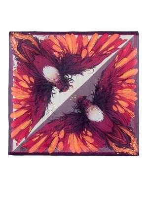 Платок Stilla s.r.l.. Цвет: молочный, коричневый