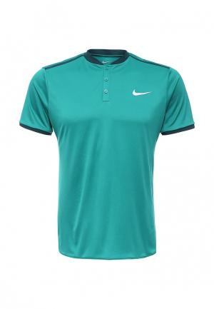 Поло Nike. Цвет: бирюзовый