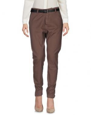 Повседневные брюки DIXIE. Цвет: светло-коричневый