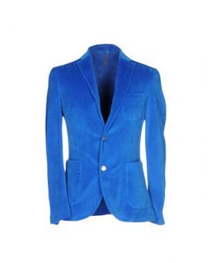 Пиджак MONTEDORO. Цвет: ярко-синий