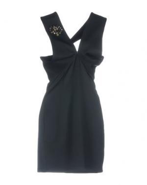 Короткое платье JOLIE CARLO PIGNATELLI. Цвет: темно-синий