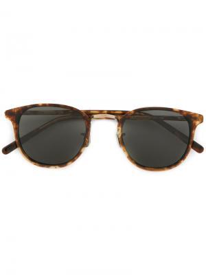 Солнцезащитные очки Eyevan7285. Цвет: коричневый