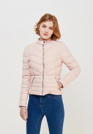 Куртка утепленная s.Oliver. Цвет: розовый