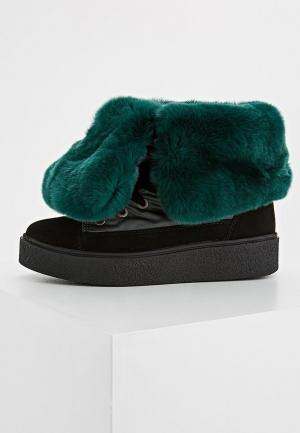 Ботинки Jog Dog. Цвет: зеленый