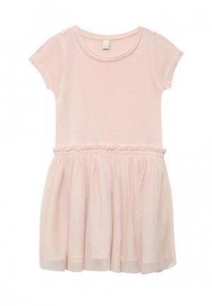 Платье Esprit. Цвет: розовый
