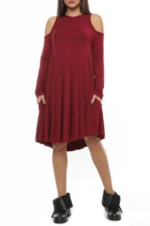 Платье Ki6 collection. Цвет: bordeaux