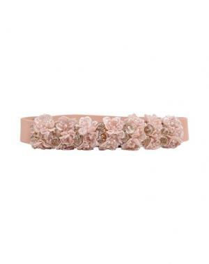 Ремень NORA BARTH. Цвет: розовый