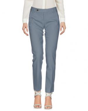 Повседневные брюки ROSE' A POIS. Цвет: грифельно-синий
